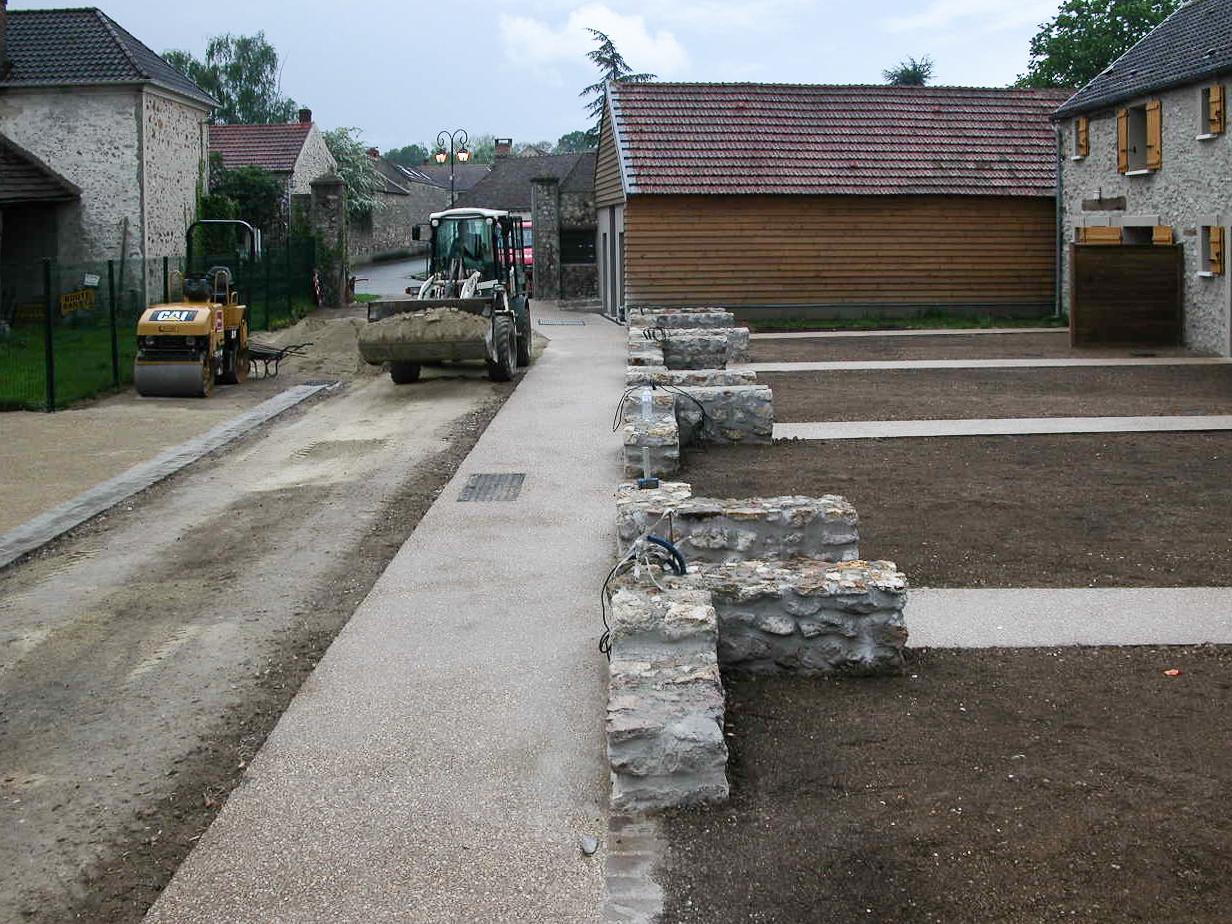 Photos de chantiers erg architecture - Cout rehabilitation grange ...