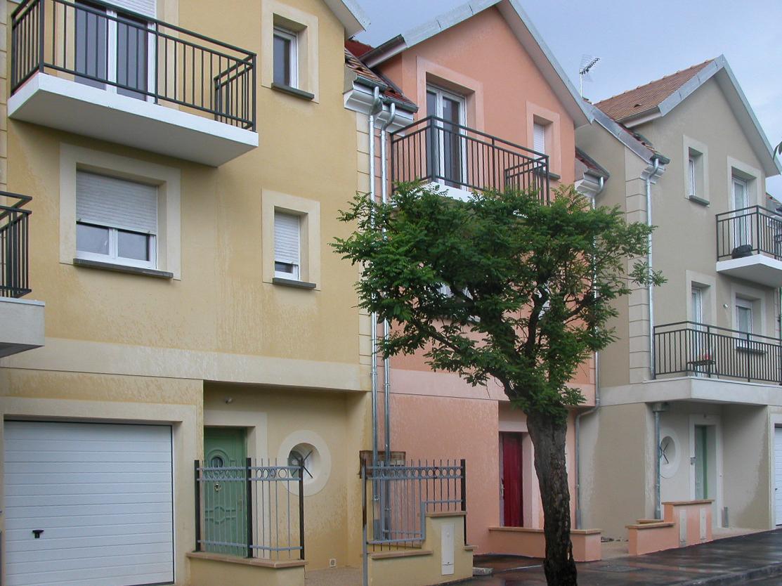 Maisons de villes à Villeparisis