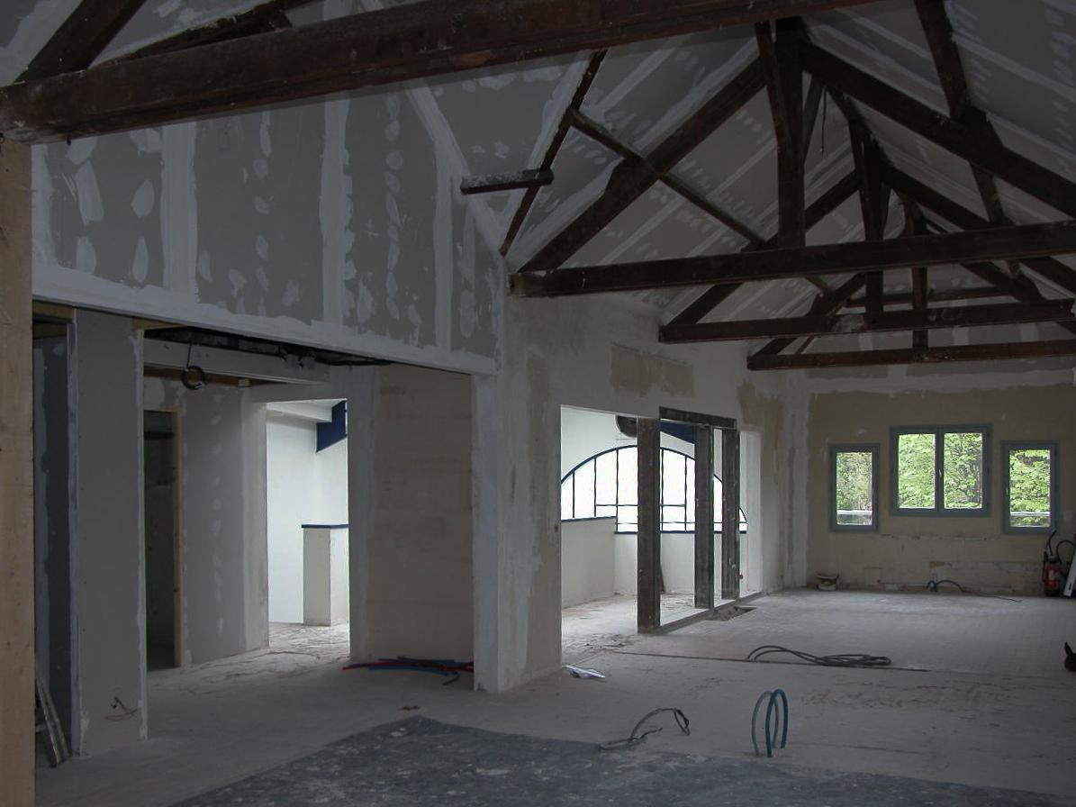 r novation de bureaux saint maur des foss s 94 erg architecture. Black Bedroom Furniture Sets. Home Design Ideas